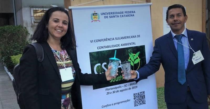 DOCENTE INVESTIGADOR PARTICIPA EN CONGRESO DE CONTABILIDAD AMBIENTAL EN BRASIL