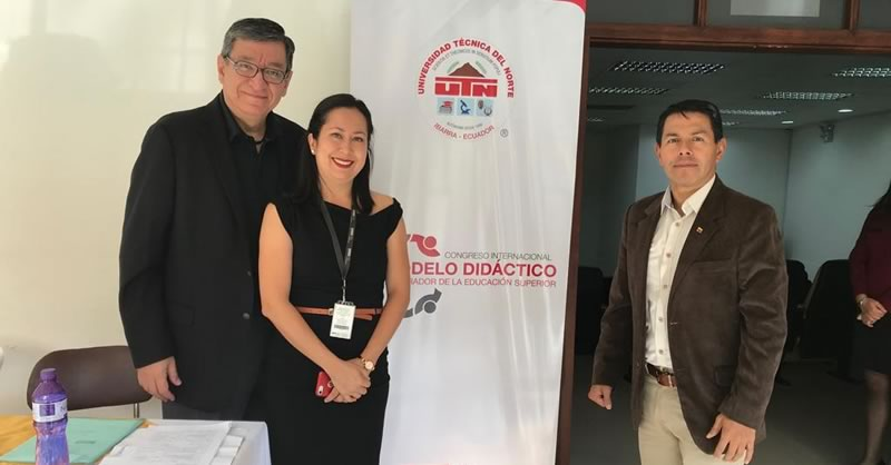 DOCENTE  INVESTIGADOR PRESENTÓ CONFERENCIA EN CONGRESO INTERNACIONAL EN ECUADOR