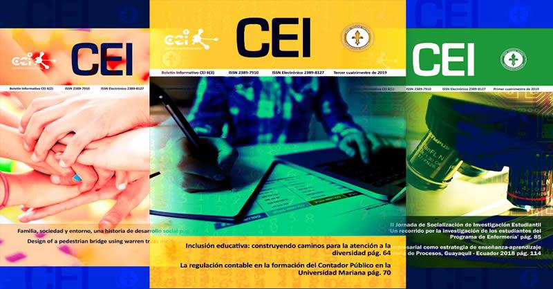 EDITORIAL UNIMAR INVITA A ESCRIBIR PARA EL BOLETÍN INFORMATIVO CEI