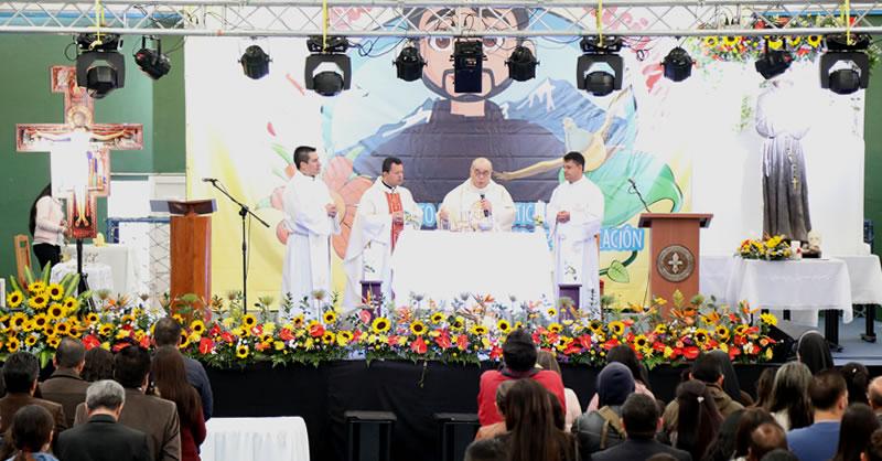 COMUNIDAD UNIVERSITARIA CELEBRÓ EUCARISTÍA EN HOMENAJE A SAN FRANCISCO DE ASÍS