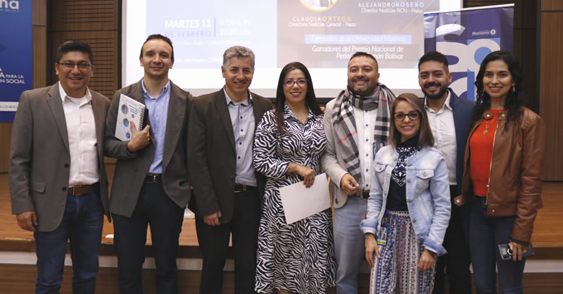 EGRESADOS DE COMUNICACIÓN SOCIAL LIDERARON CONVERSATORIO DE PERIODISMO REGIONAL