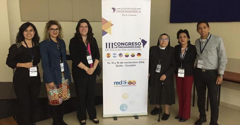 UNIVERSIDAD MARIANA PARTICIPÓ EN III CONGRESO LATINOAMERICANO DE EDUCACIÓN SUPERIOR EN QUITO, ECUADOR