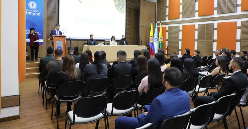 ESTUDIANTES DE CONTADURÍA PÚBLICA INICIARON PRÁCTICAS PRE PROFESIONALES