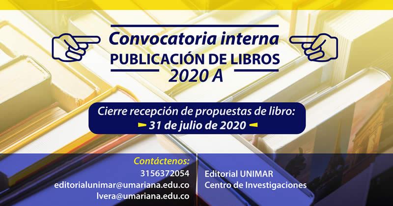 ABIERTA LA CONVOCATORIA PARA PUBLICACIÓN DE LIBROS