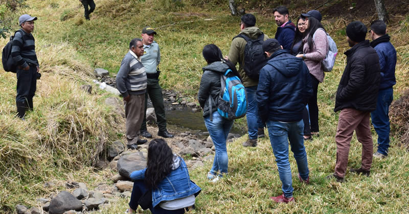 ALIANZA PARA IMPULSAR EL ECOTURISMO DEL MUNICIPIO DE SAPUYES