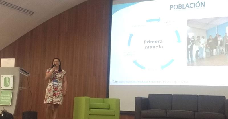DOCENTE DE EDUCACIÓN PARTICIPÓ CON PONENCIA EN II CONGRESO INTERNACIONAL DE EDUCACIÓN INCLUSIVA