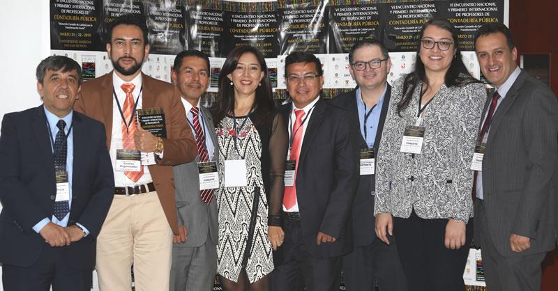 UNIVERSIDADES DE COLOMBIA PARTICIPARON EN ENCUENTRO NACIONAL E INTERNACIONAL DE PROFESORES DE CONTADURÍA PÚBLICA