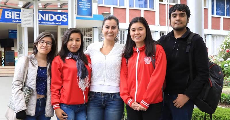 BIENVENIDOS ESTUDIANTES DE INTERCAMBIO DE LA UNIVERSIDAD CÉSAR VALLEJO DE PERÚ