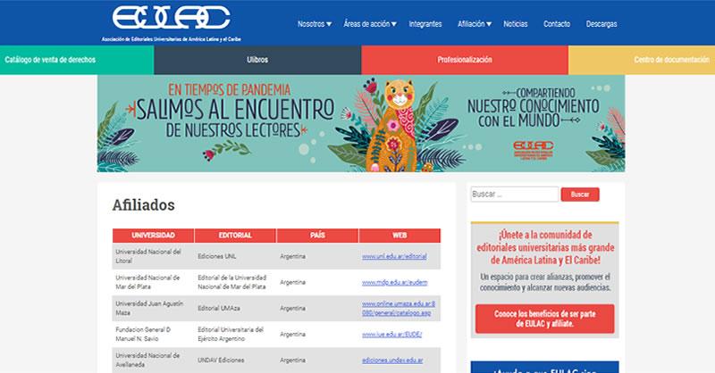 Editorial UNIMAR ahora hace parte de la EULAC