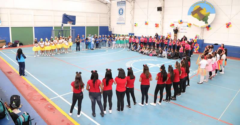 FACULTAD DE EDUCACIÓN REALIZÓ EL FESTIVAL DEL ARCO IRIS