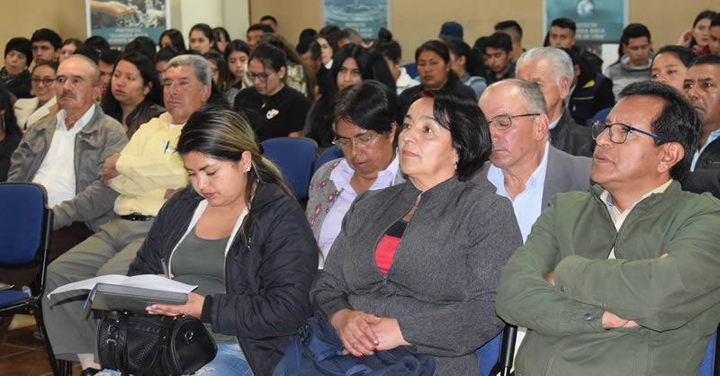 FORO INTERCAMBIO DE EXPERIENCIAS: 'CUIDADO DEL AGUA'