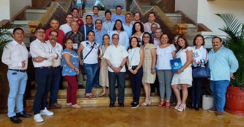 DOCENTES PARTICIPARON EN XIV FORO DE INVESTIGACIÓN EN MANZANILLO - MÉXICO