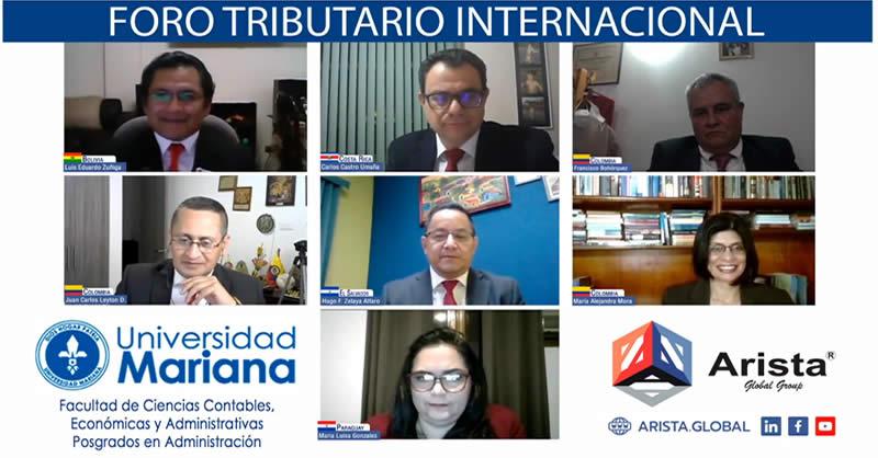 POSGRADOS EN ADMINISTRACIÓN LIDERARON EL I FORO TRIBUTARIO INTERNACIONAL