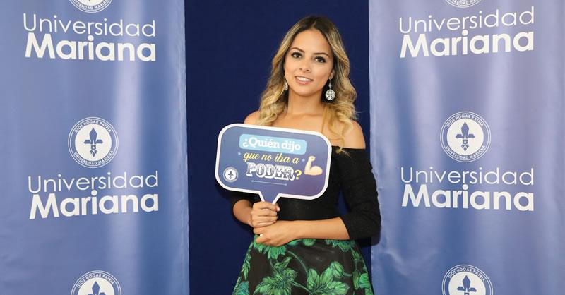 UNIVERSIDAD MARIANA CELEBRÓ GRADOS PRIMER PERÍODO 2019