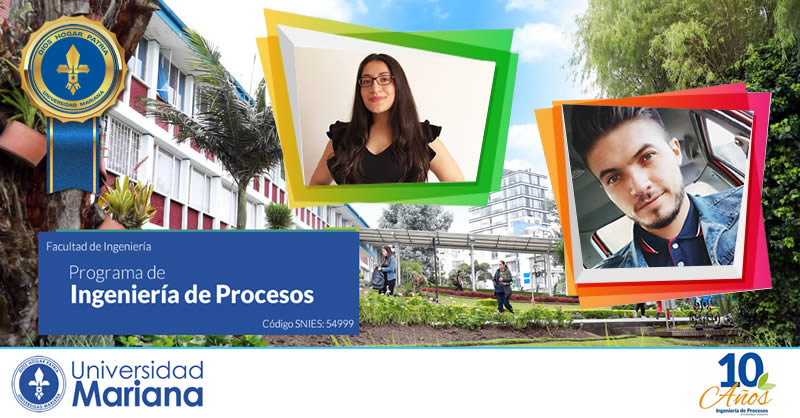 Programa de Ingeniería de Procesos, nuevamente galardonado con la máxima condecoración que otorga la Universidad Mariana