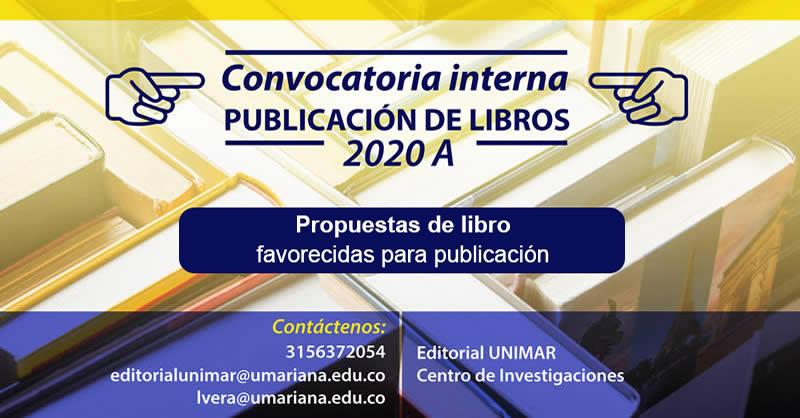 Propuestas de libro favorecidas para publicación