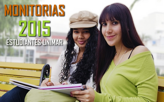 CONVOCATORIAS MONITORIAS 2015