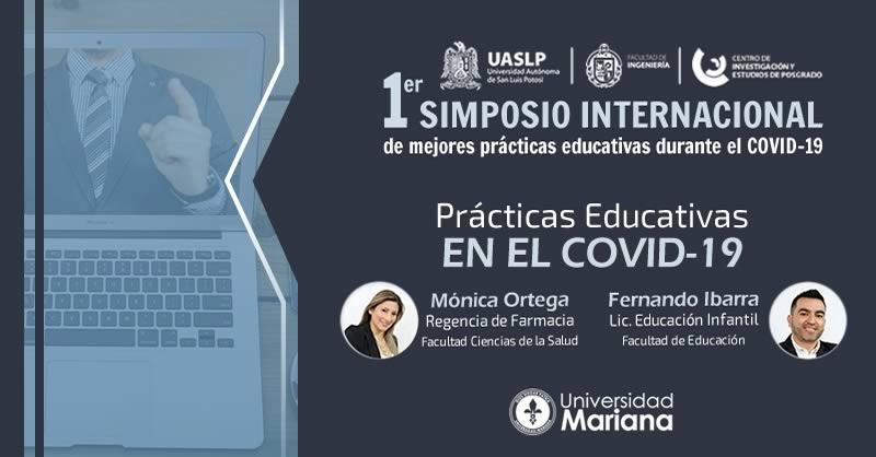 DOCENTES DE LA UNIVERSIDAD MARIANA, PONENTES EN SIMPOSIO INTERNACIONAL VIRTUAL