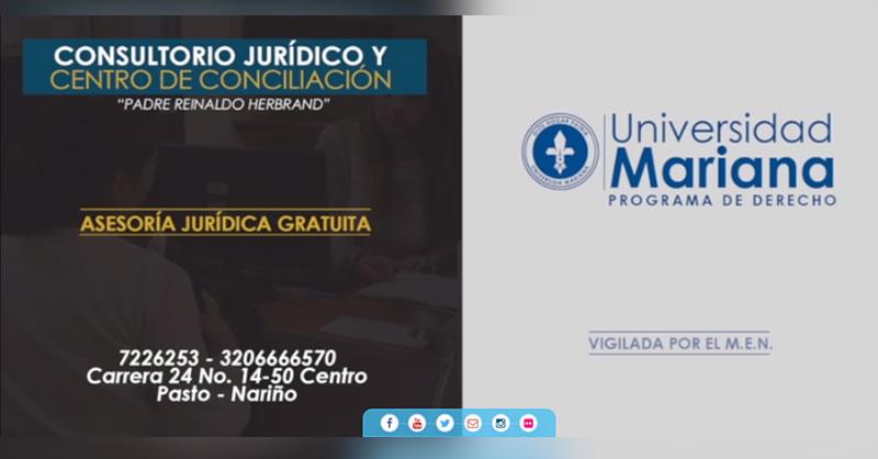 MINISTERIO DE JUSTICIA Y DEL DERECHO, OTORGÓ DOS RECONOCIMIENTOS AL CONSULTORIO JURÍDICO DE LA UNIVERSIDAD MARIANA