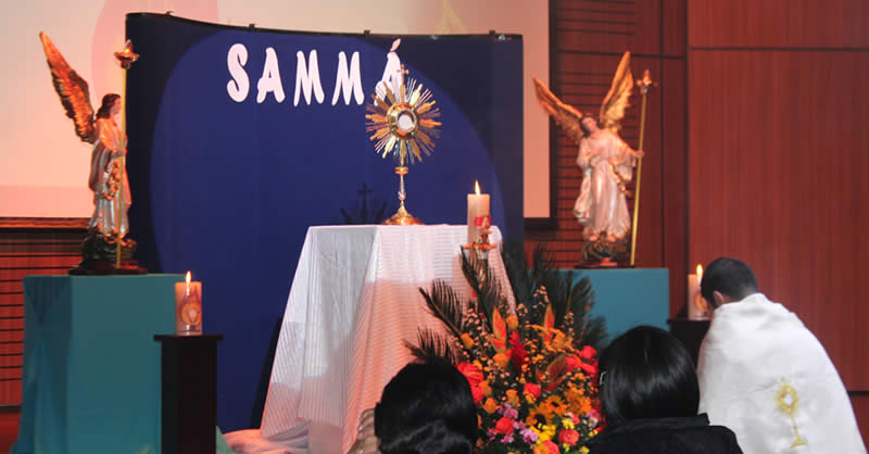 EXPERIENCIA DE ORACIÓN SAMMÁ