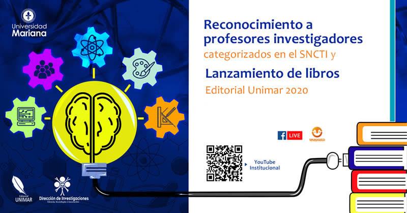 Se llevó a cabo ceremonia virtual de reconocimiento a profesores investigadores y lanzamiento de libros
