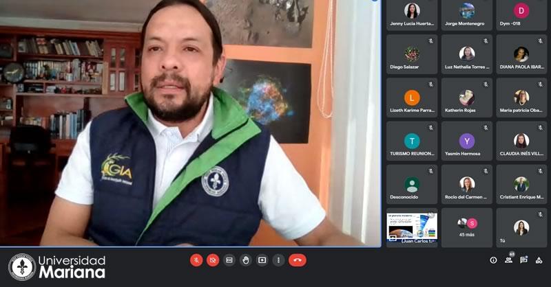 PROGRAMA DE INGENIERÍA AMBIENTAL PARTICIPÓ EN ENCUENTRO NACIONAL