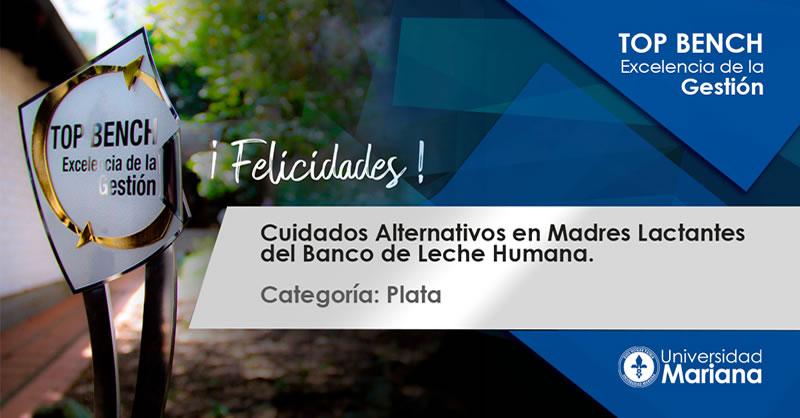 PROYECTO INVESTIGATIVO LIDERADO POR LA UNIVERSIDAD MARIANA OBTUVO RECONOCIMIENTO TOP BENCH-EXCELENCIA DE LA GESTIÓN